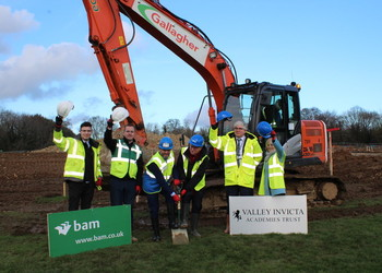 Work on brand new School of Science and Technology Maidstone is officially underway