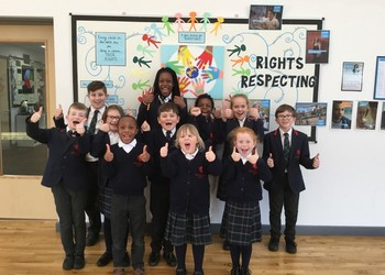 Valley Invicta Primary School at Holborough Lakes receives prestigious Unicef UK Award