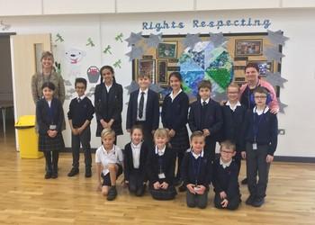 Valley Invicta Primary School at Kings Hill receives prestigious Unicef UK Award